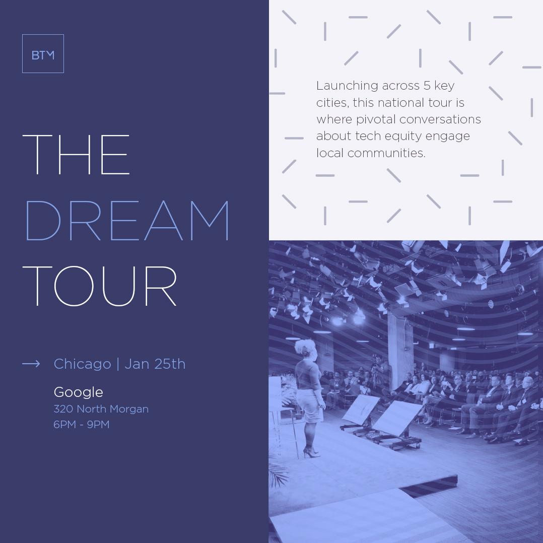 Flyer of DREAM Tour: Chicago