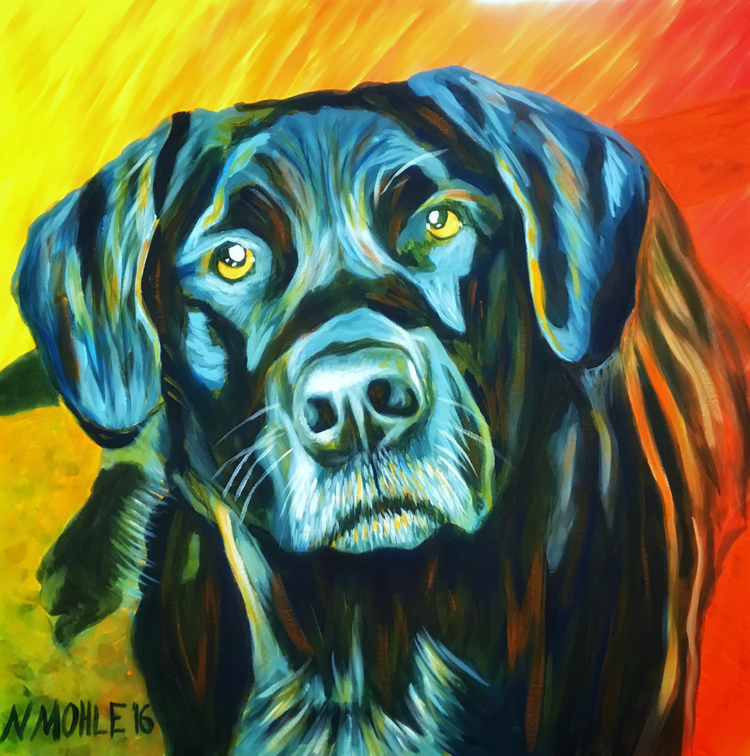 Wine and paint fundraiser for spot saving pets one at a for Wine and painting mn