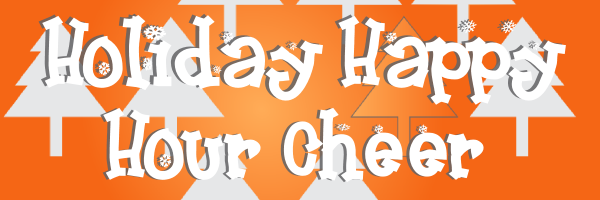Holiday Happy Hour Cheer banner