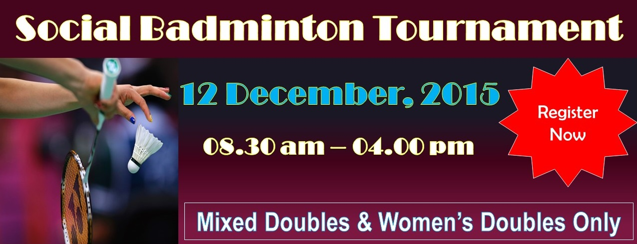 Social Badminton Tournament 2015