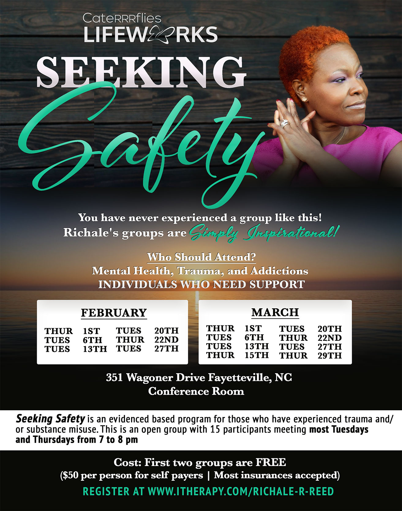 Seeking Safety with Event Dates