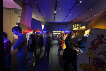 Images of Game Masters at ACMI (Australian Centre for the Moving Image
