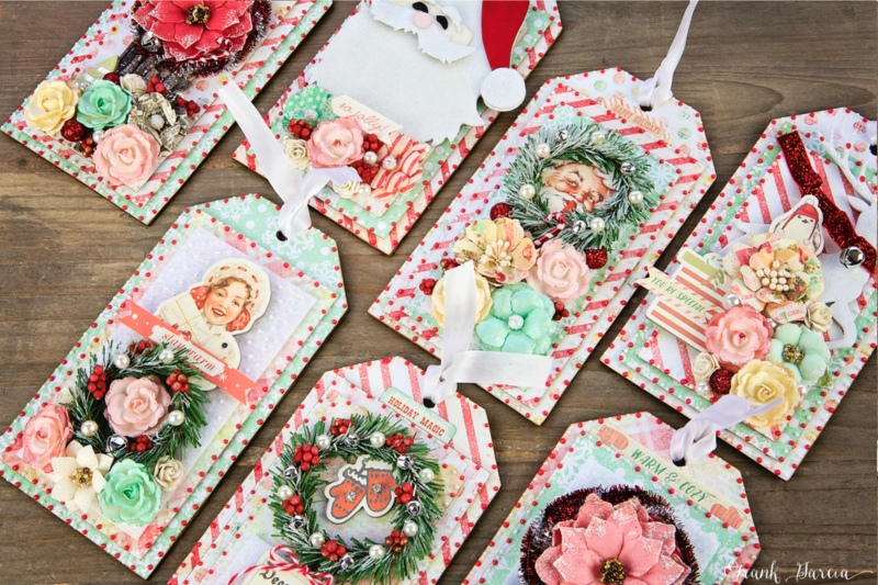 Sweet Peppermint Christmas Tags 2016