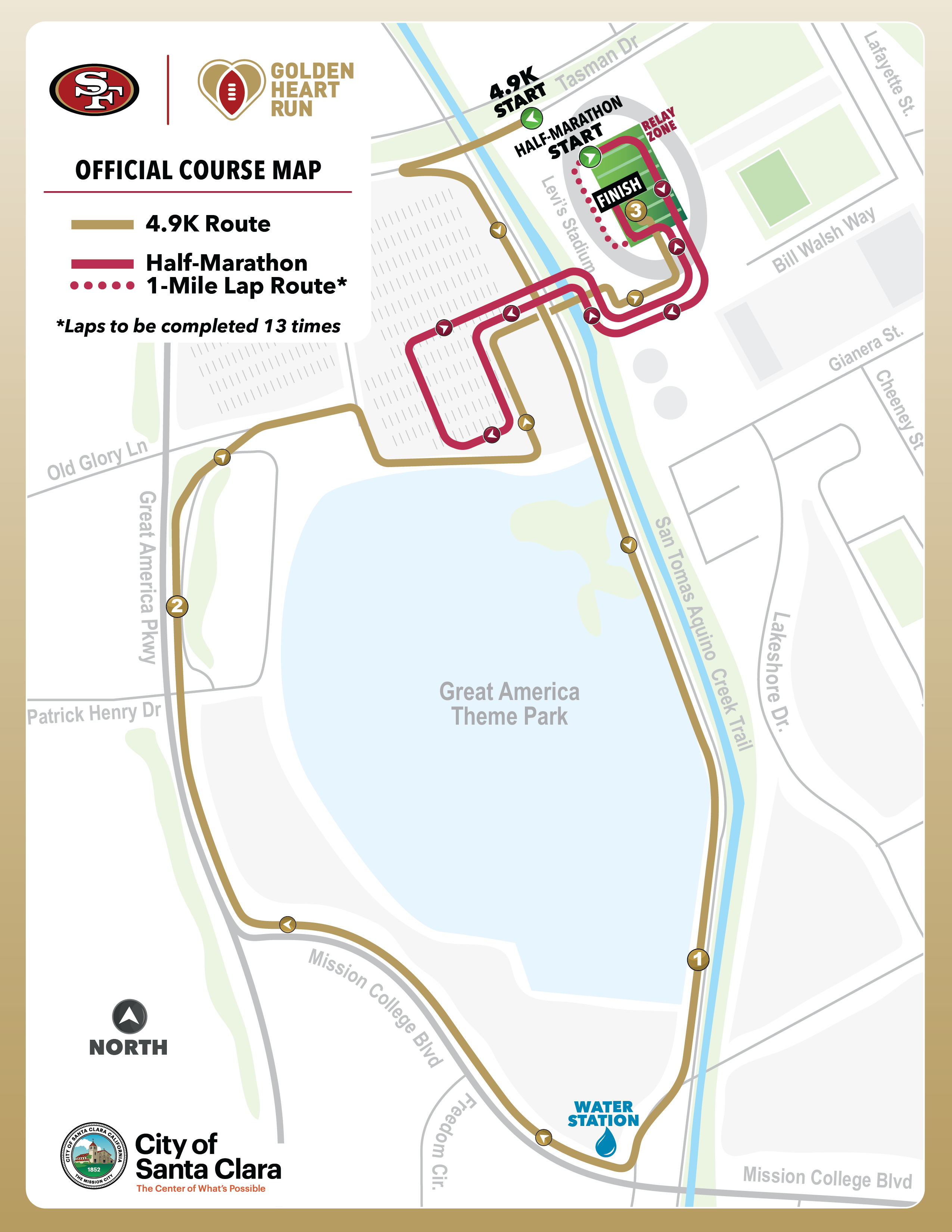 4.9K Fan Run & Lap Half Marathon