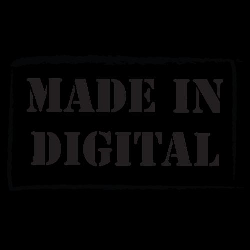 Logo Made in digital