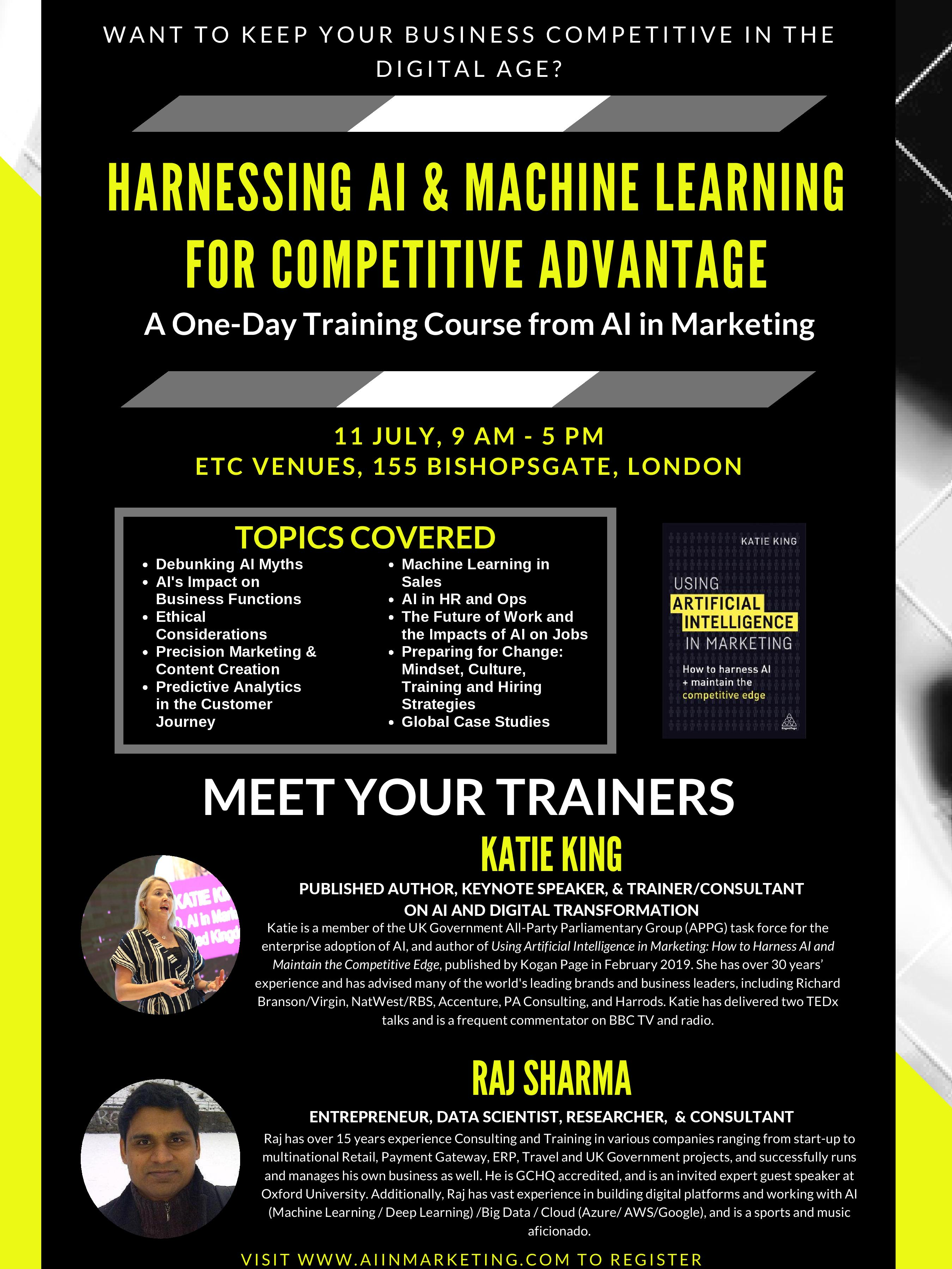 London Training Course Flyer