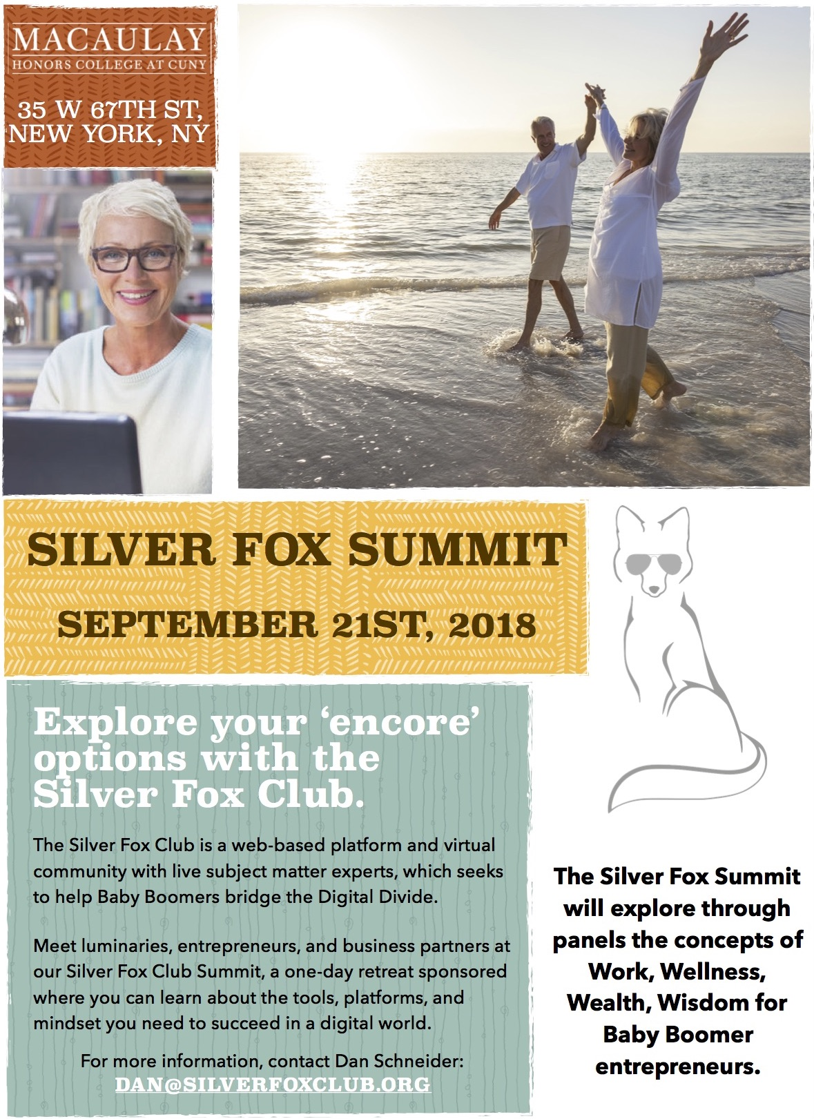 Silver Fox Summit Save the Date