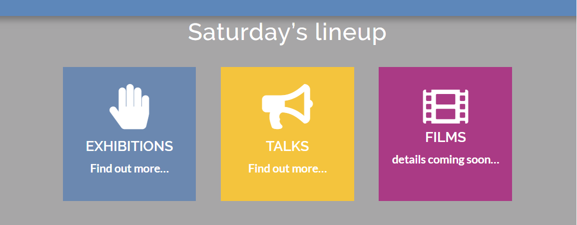 RAREfest saturday line-up - click here to go to website