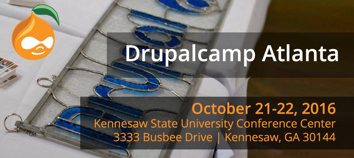DrupalCamp Atlanta 2016 Logo