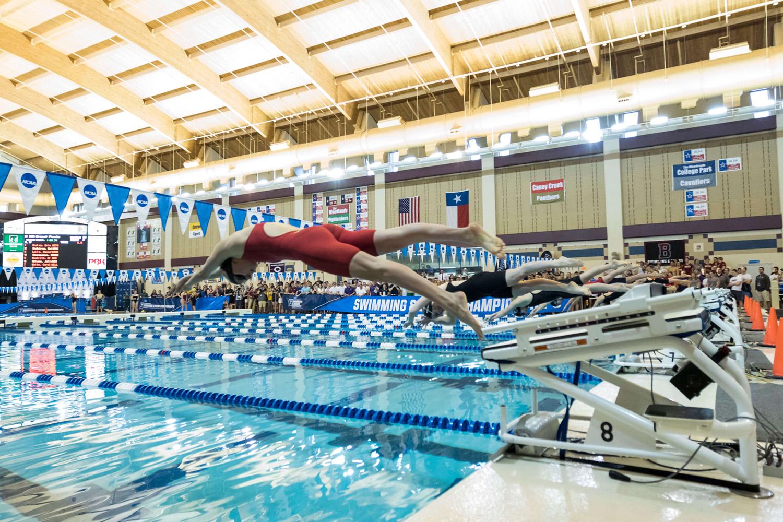 Denison Swimmer