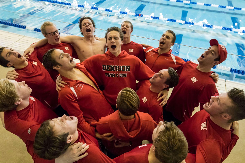 Denison Men Swim and Dive