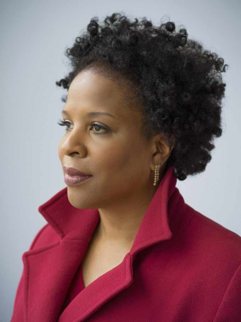 A portrait of Tayari Jones by Nina Subin