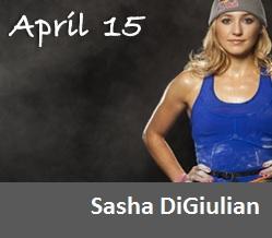 April 15 - Sasha DiGiulian