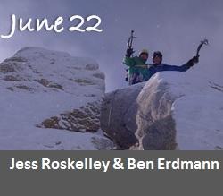 Jess Roskelley and Ben Erdmann