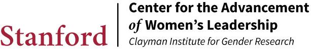 Center for the Advancement of Women's Leadership logo