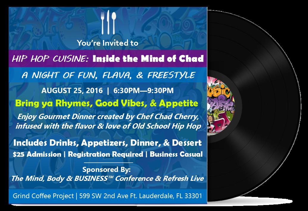 Hip Hop Cuisine 8-25