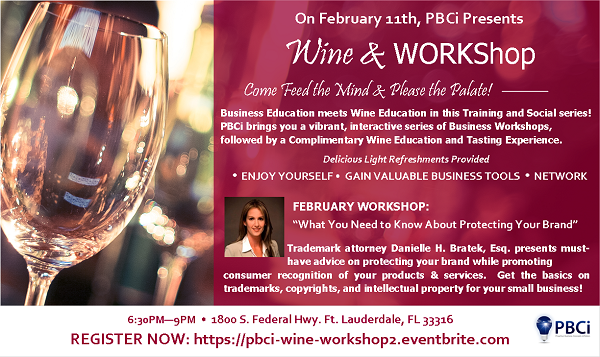 Wine & WORKShop Flyer