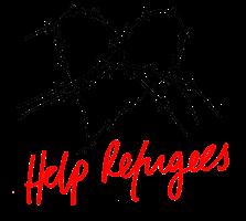 Help refugees logo