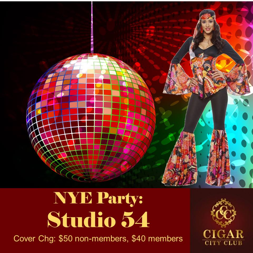 Cigar City Club's Annual New Years Eve Party: Studio 54 Tickets ...