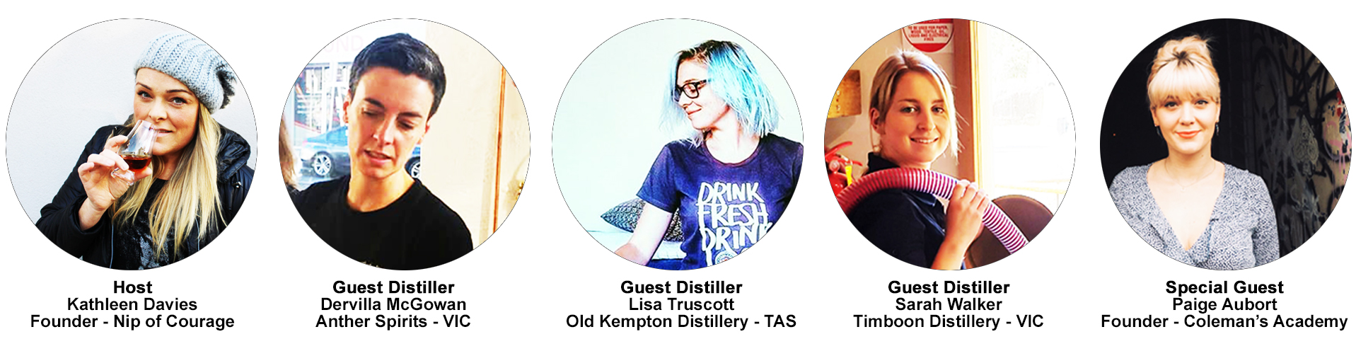 Women of Australian Distilling