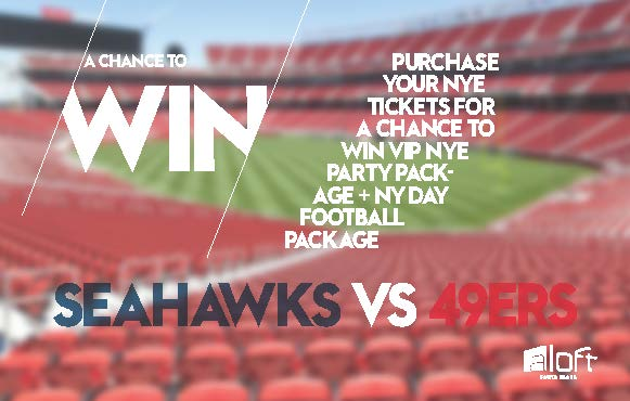 VIP NYE + NY Day Football Package