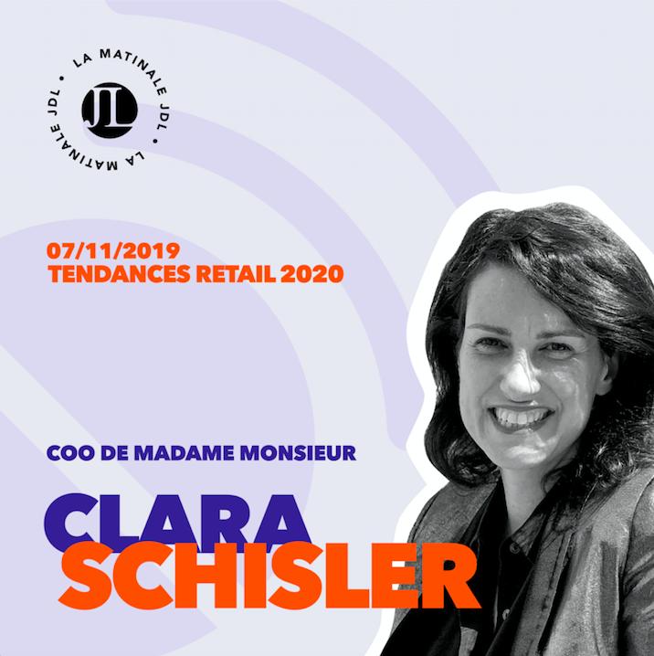 Clara Schisler, COO de MadameMonsieur
