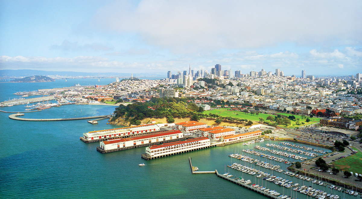 Fort Mason - The location of the inaugural Bandwaggin Country Fest