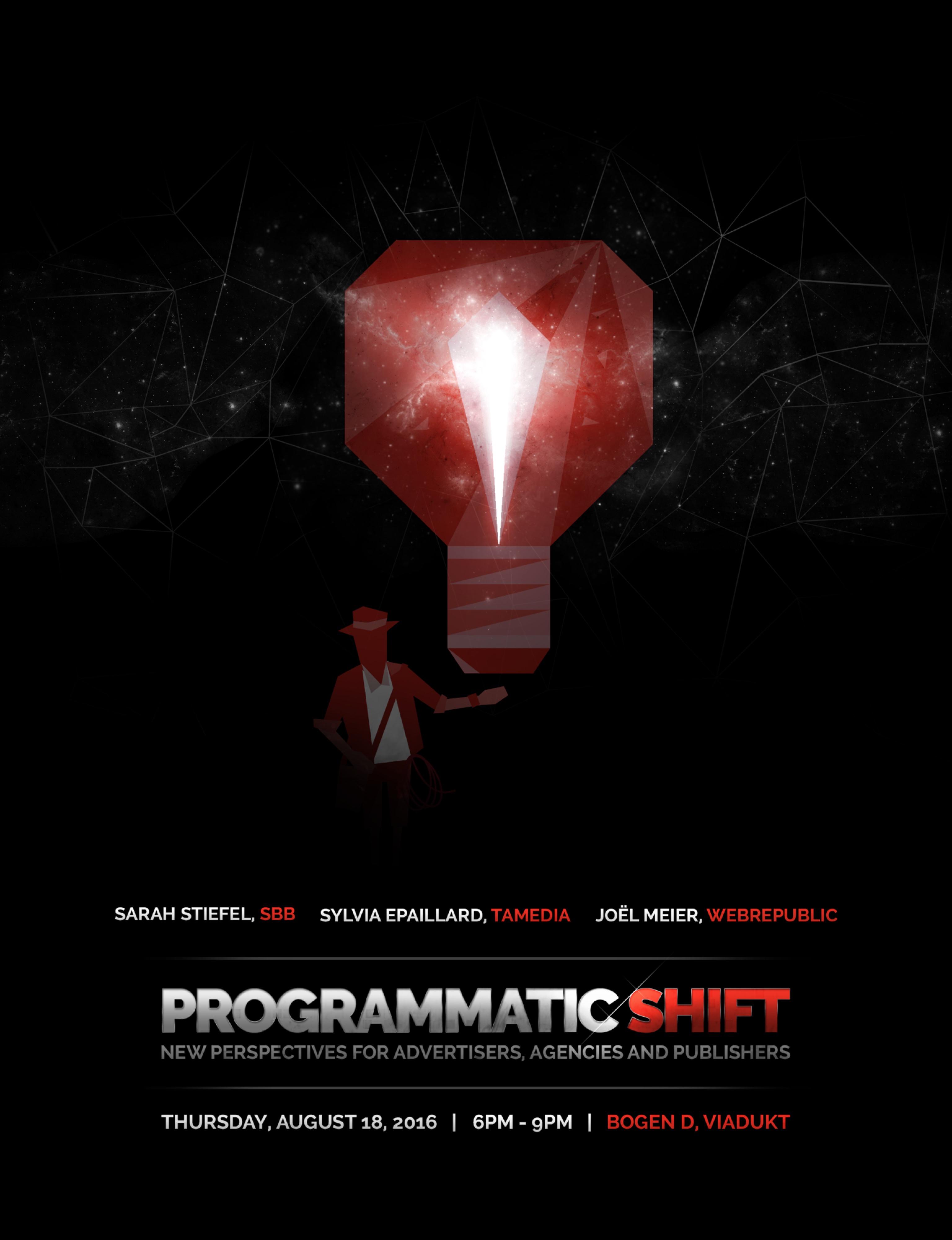 Programmatic Shift - Flyer