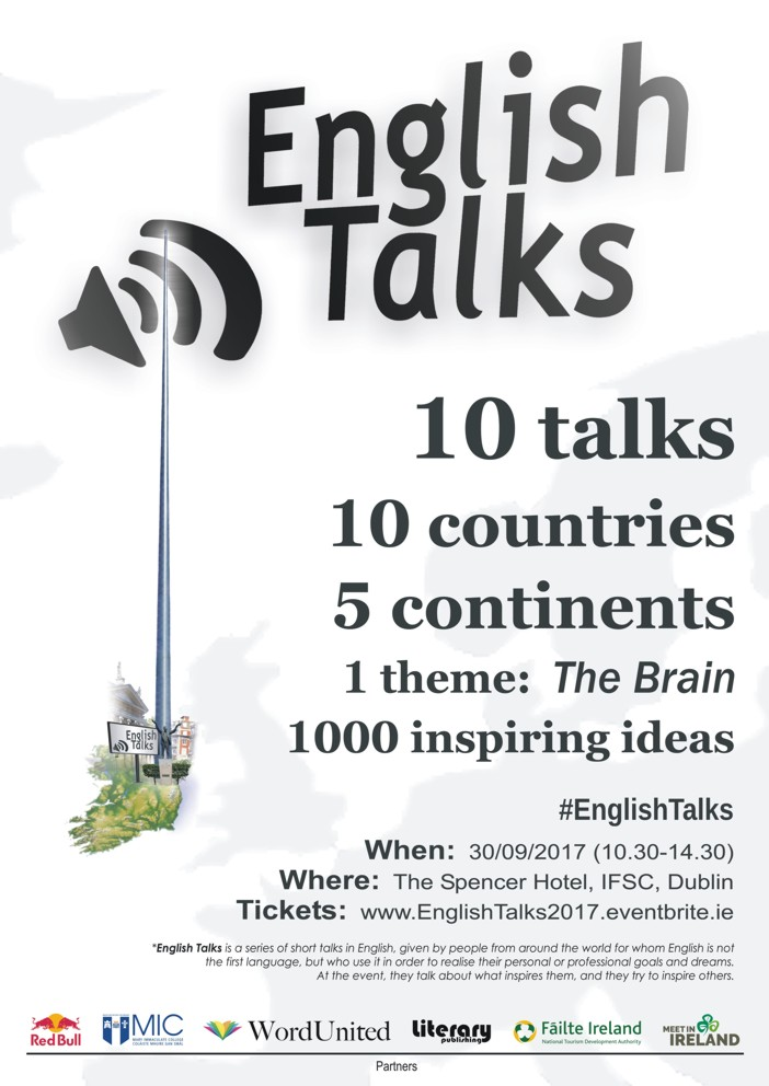 English Talks 2017 Dublin
