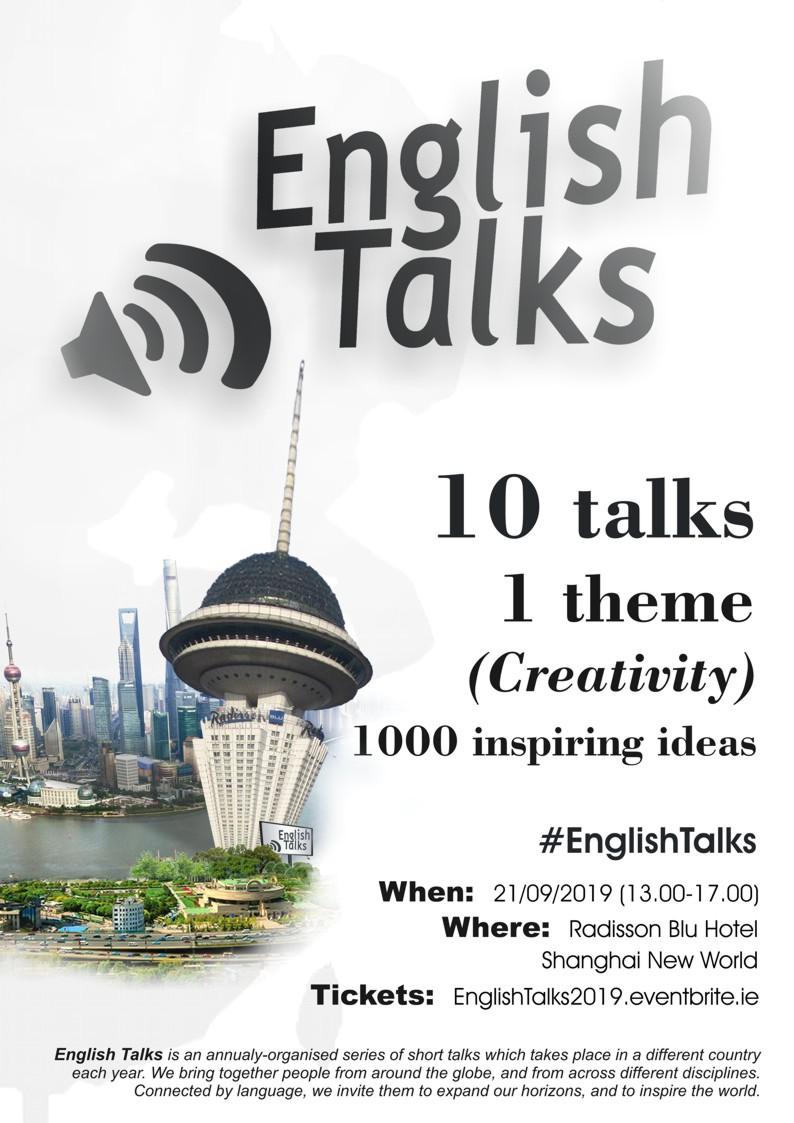 English Talks 2019 Shanghai