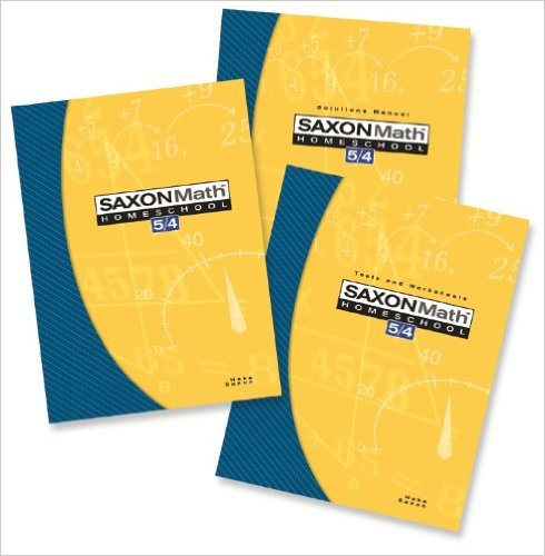 Saxon Math 5/4 Complete Set