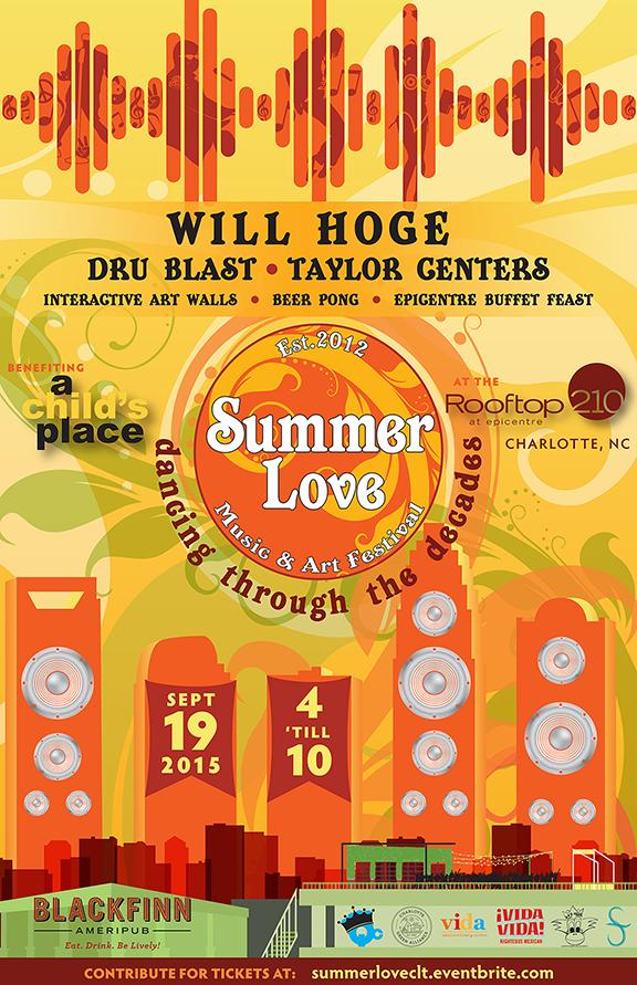 Summer Love Music & Arts Festival | Charlotte, NC | September 19th