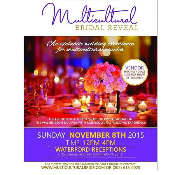 DC Multicultural Bridal Show- Waterford Springfield