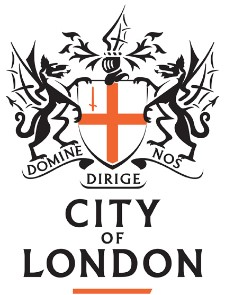 City of London Logo, this event is in partnership with them,