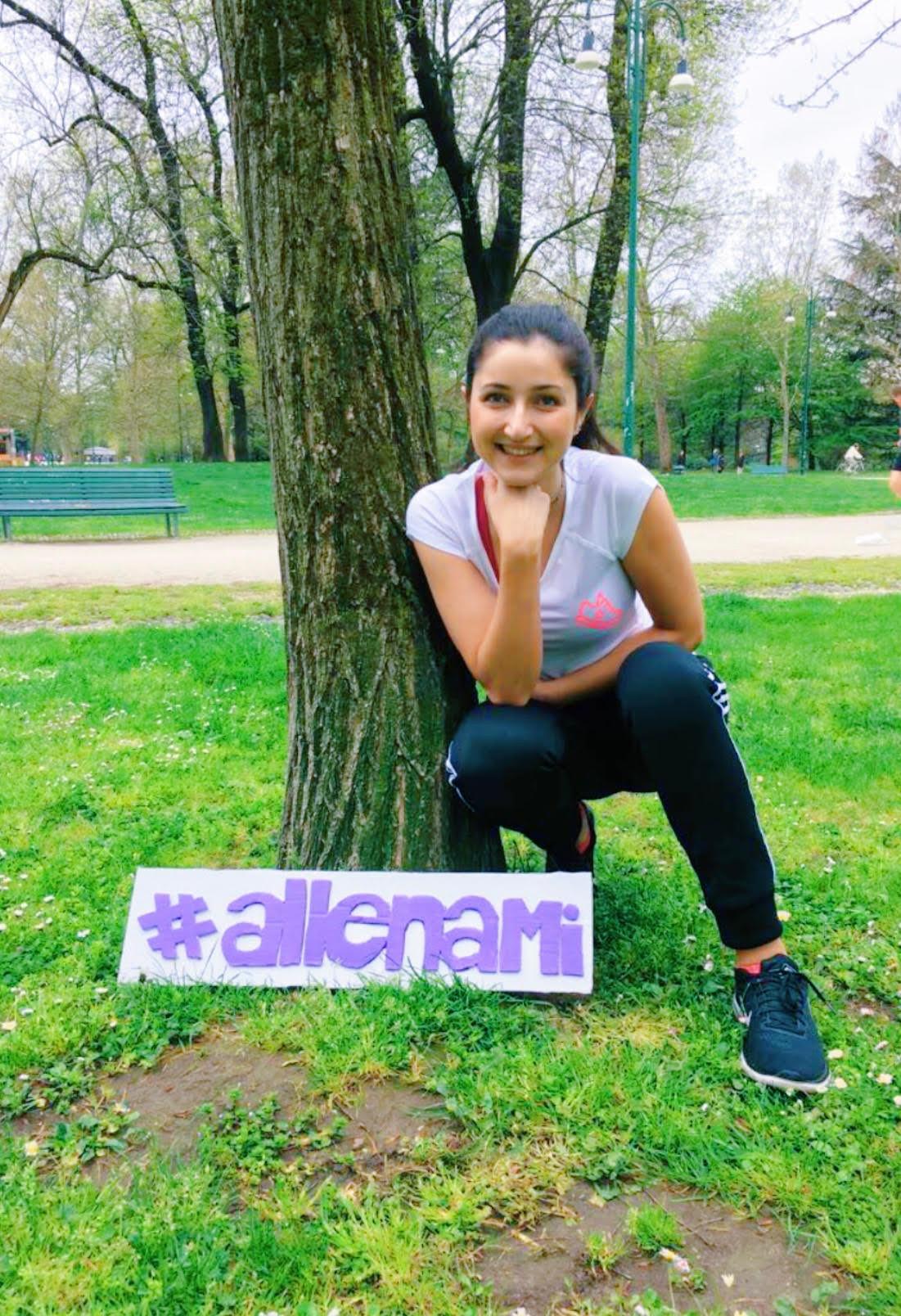 Maria Luisa Allyoucanfit #Allenami