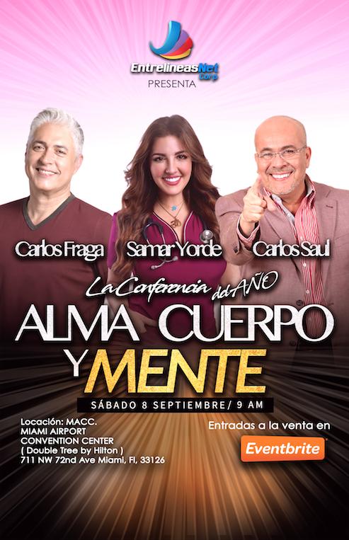 Alma Cuerpo y Mente_ Carlos Fraga_ Carlos Saul Rodriguez_ Samar Yorde_