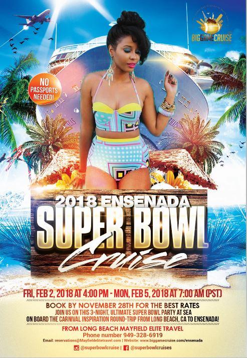 2018 Ensnenada Super Bowl Cruise Flyer