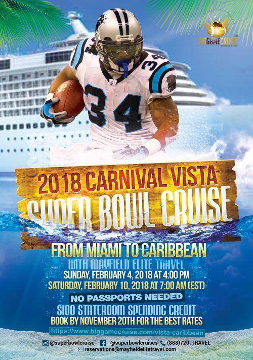 Vista Cruise Event Flyer