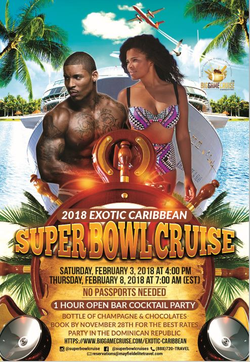 Exotic Cruise Event Flyer