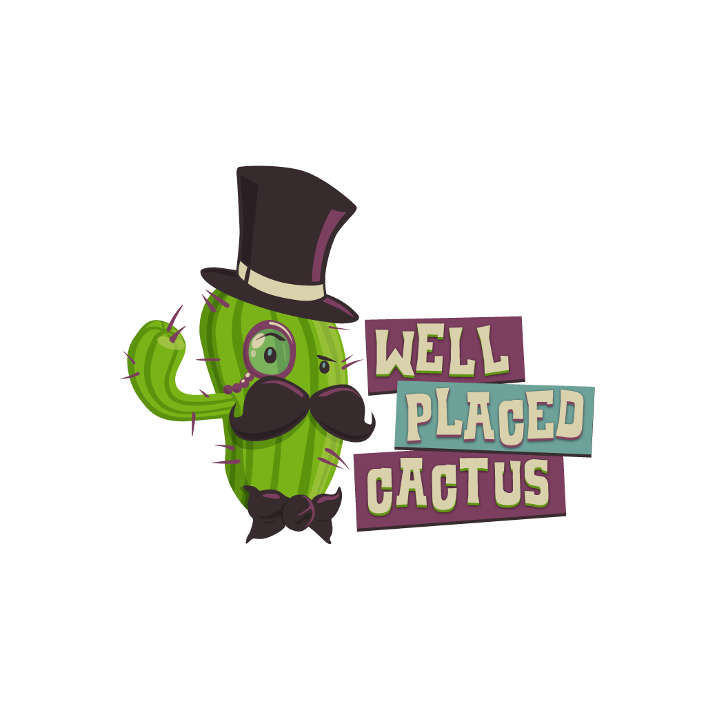 Well Placed Cactus logo