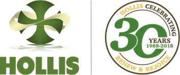 HOLLIS AND 30TH ANNIV LOGO