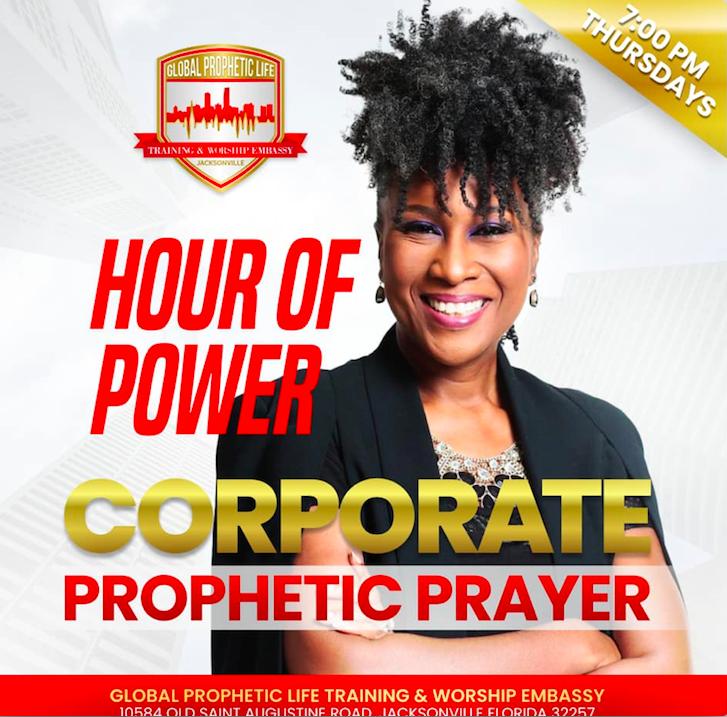 PROPHETIC PRAYER IN JACKSONVILLE - THURSDAYS AT 7PM