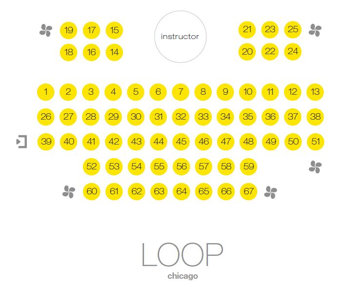 SoulCylce Loop studio map