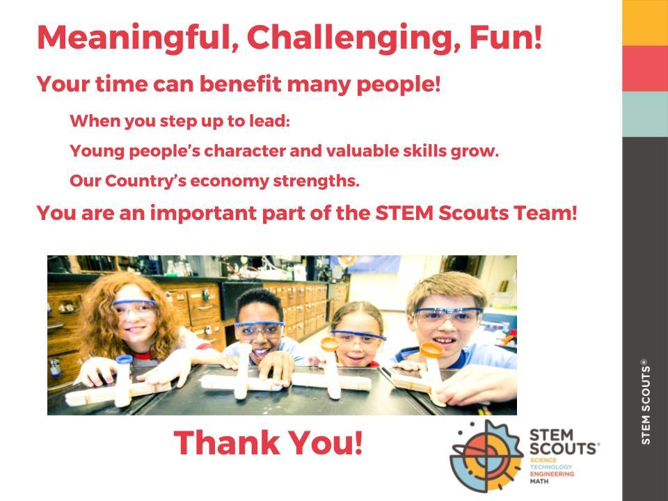 STEM Scouts Austin 2017