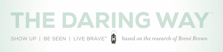 The Daring Way™ logo