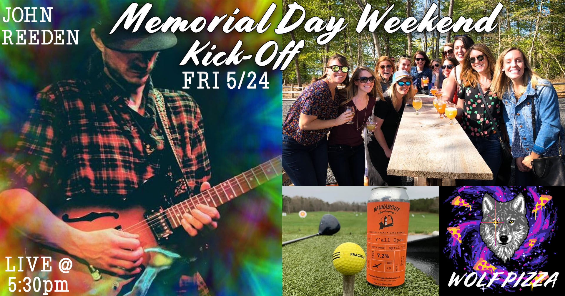 Memorial Day Weekend Friday Night Kick Off