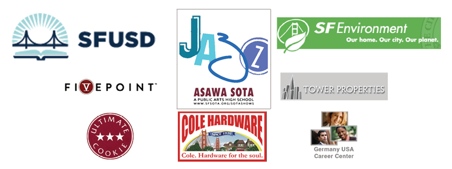 Thanks to our sponsors and supporters