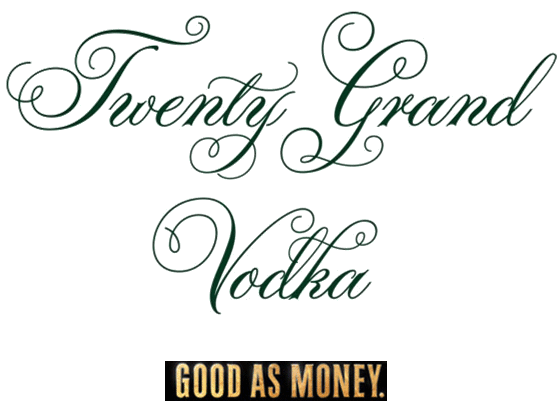 Twenty Grand Vodka Logo