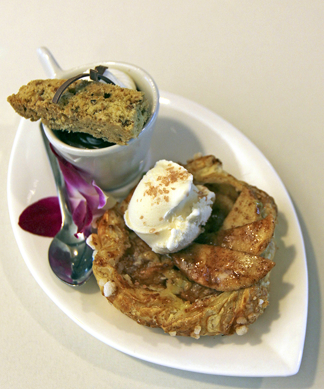Culinary Crafts' Plated Dessert