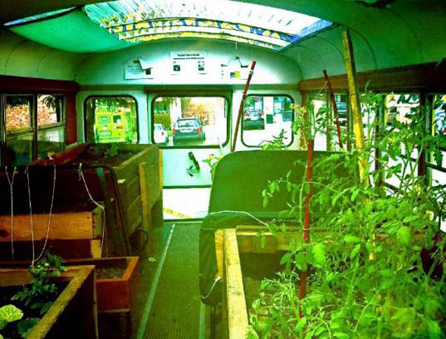 Greenhouse bus, The Green Urban Lunchbox